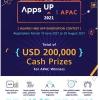 Huawei Mobile Services phát động cuộc thi AppsUP năm thứ hai với giải thưởng tiền mặt trị giá 200.000 USD tại khu vực Châu Á - Thái Bình Dương