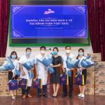 Danisa trao tặng 50.000 khẩu trang y tế trị giá và 100 phần quà trị giá 120 triệu đồng cho Bệnh viện Hữu Nghị Việt Đức Hà Nội