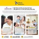 Nắm bắt nhu cầu khác nhau của từng nhóm khách hàng, gói bảo hiểm dành cho gia đình hai thế hệ, cha mẹ và con cái Liberty FamilyCare triển khai năm chương trình bảo hiểm linh hoạt, đáp ứng mọi nhu cầu bảo hiểm của từng gia đình Việt.
